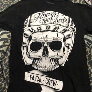 Fatal skull t shirt